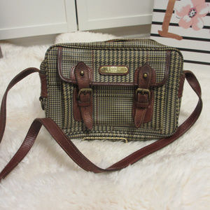Polo Ralph Lauren Vintage Houndstooth Plaid Bag